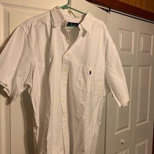 Ralph Lauren Polo Button Short Sleeve. Never worn